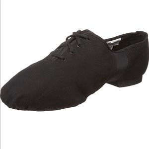 NEW-Tivoli by Sansha Jazz shoe- 10 black canvas